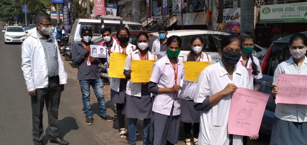 Rally conducted for  Covid 19 Awareness